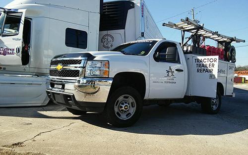 Mobile Truck Maintenance Diesel Shop Trailer Repair